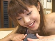 Arika Takarano Cute Av Idol Japanese Is Addicted To Cum And Eats It Every Chance She Gets