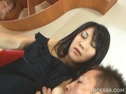 Atsumi Katou Threesome Creampie She Loves Her Three Way Gang Bangs