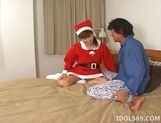 Av Idol Costume Santa Cruz She Enjoys Being The Gift That Keeps On Giving picture 1