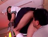Yuma Asami enjoys a sensual hardcore fuck picture 12