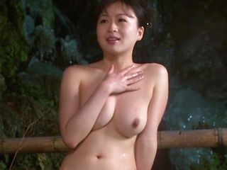 Horny Okazaki Hanae slides her fingers down