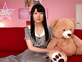 Hot bukkake scenes with horny Japanese teen, Nagomi picture 10
