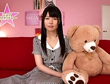 Hot bukkake scenes with horny Japanese teen, Nagomi picture 14
