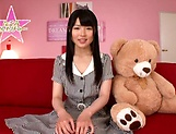 Hot bukkake scenes with horny Japanese teen, Nagomi picture 1