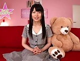 Hot bukkake scenes with horny Japanese teen, Nagomi picture 5