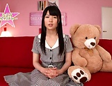 Hot bukkake scenes with horny Japanese teen, Nagomi picture 6
