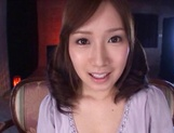 Crazy Japanese amateur chick Minami Kojima gets bukkake picture 11