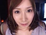 Crazy Japanese amateur chick Minami Kojima gets bukkake picture 14