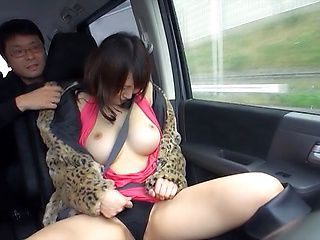Horny Riko Nakayama plays with toys
