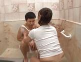 Sexy babe Ikumi Kondou enjoys a lovley shag picture 14
