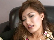 Sexy Asada moans when penetrated deep