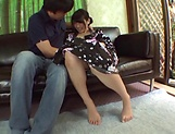 Amateur blowjob porn scenes with a hot Japanese AV model