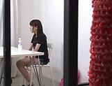 Ebina Rina showing her amazing blowjob skills picture 11