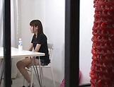 Ebina Rina showing her amazing blowjob skills