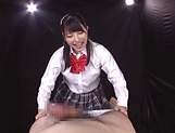 Ai Uehara and Karen Haruki blow a cock brilliantly picture 15