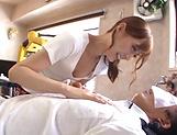Hot massage turns into a great handjob by Kaede Fuyutsuki