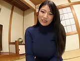 Big tits Saegusa Chitose pleasures herself picture 11