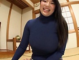 Big tits Saegusa Chitose pleasures herself picture 14
