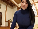 Big tits Saegusa Chitose pleasures herself picture 15