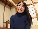 Big tits Saegusa Chitose pleasures herself