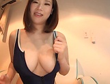 Hoshino Hibiki enjoys a kinky masturbation picture 11
