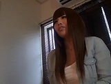 Nishikawa Rion loves her fanny being fingered picture 12