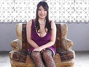 Saegusa Chitose has three well endowed lad to fuck