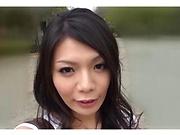 Hodaka Yuuki loves a throbbing car sex