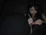 Dark haired lass Amayoshi Shizuku in an awesome titty fuck action
