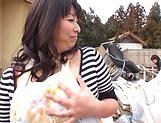 Mature Yukari Orihara has a wild fuck picture 14