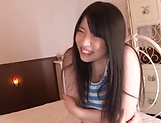 Saegusa Chitose lusty Asian babe gets hardcore banging picture 8