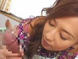 Perfect POV blowjob with Asian Hikari Kirishima picture 14