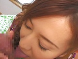 Perfect POV blowjob with Asian Hikari Kirishima picture 15