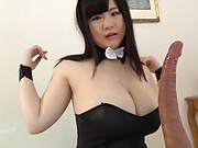 Busty Mikoto Yatsuka banged in hot fuck