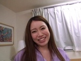 Chubby milf with hairy pussy Akane Mizusaki gets toyed and fucked