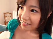 Busty Natsu Kimino loves to please her man