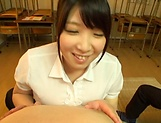 Amayoshi Shizuku makes a dude cum with her boobs picture 4