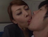 Kazama Yumi has her vagina screwed superbly picture 5