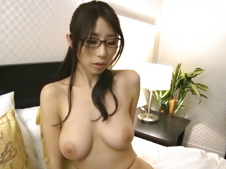 Busty milf Ayumi Shinoda gets her pantyhose ripped and pussy nailed