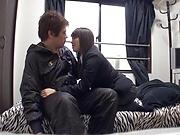 Busty Asian babe Hazuki Bion enjoys sex.