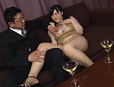 Busty Mikoto Yatsuka wants to be banged picture 15