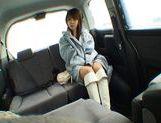 Nana Ayase Asian doll has hot car sex