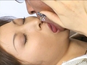 Chihiro Hara Sexy Nails To Sink Into Your Ass While She Is Sucking Your Cock