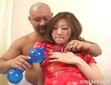 Chihiro Hara Skillful Blowjob Internal Cumshots Licks Asshole Likes Anal And On Top picture 13