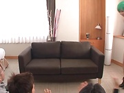 Nishiyama Itsuki sucking a large unbending wang
