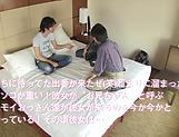 Huge tits Japanese babe Tsukada Shiori, creamed in dirty group