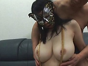 Sexy Asian porn play with masked beauty Tsukada Shiori
