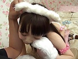 Saeki Rui gets anal rammed to rapturous delights picture 2