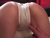 Hot Asian milf, Moe Shinohara enjoys cock deep in her wet pussy