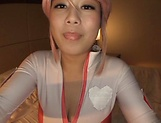 Busty Asian princess,Tsukada Shiori in amateur POV cosplay fuck show